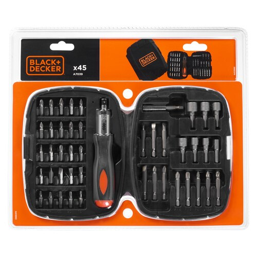 Black and Decker - 45tlg HandratschenSet - A7039