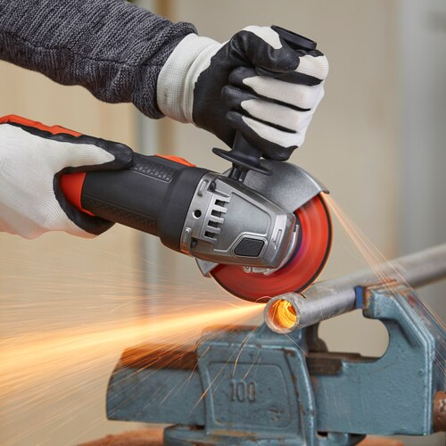 Black and Decker - 900W 115mm Angle Grinder With Kit Box - BEG210K